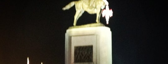 King Taksin Monument is one of ราชการ.