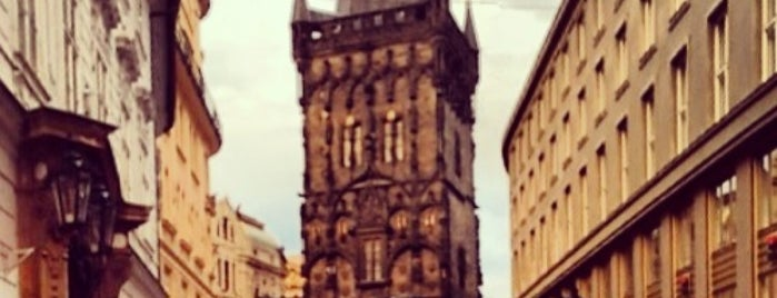 The Powder Tower is one of Praha.