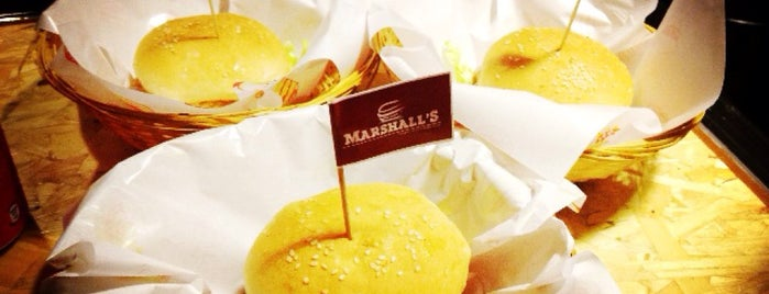 Marshall's Burger is one of Burgers! !.