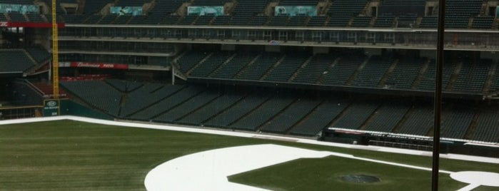 Progressive Field is one of MLB parks.