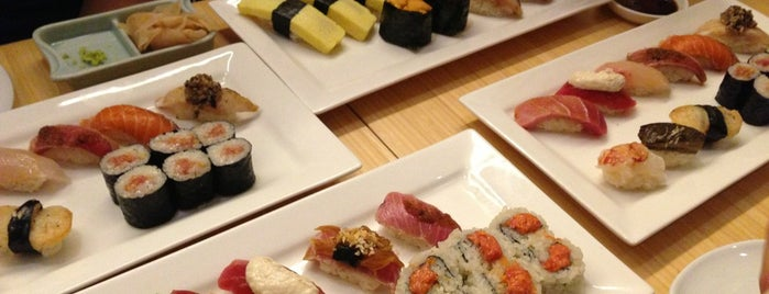 Sushi of Gari Tribeca is one of The New Yorkers: Tribeca-Battery Park City.
