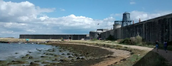 Hurst Castle is one of England 1991.