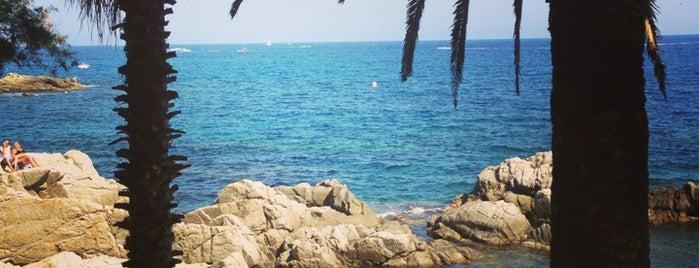 Cala Banys is one of Spain: Lloret de Mar.