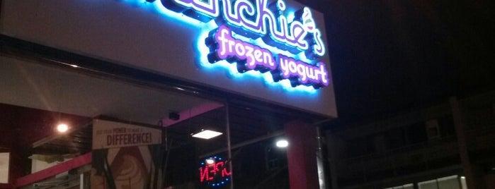 Menchie's Frozen Yogurt is one of Restos to try.