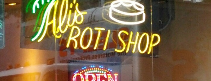 Ali's Roti Shop is one of Chow!.
