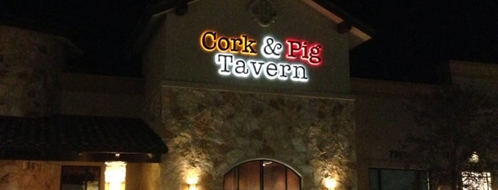 Cork & Pig Tavern is one of West Texas: Midland to El Paso.