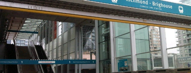 Richmond - Brighouse SkyTrain Station is one of app check!.