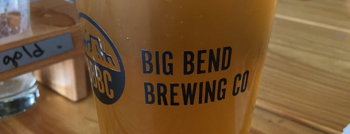 Big Bend Brewing Co. is one of Marfa.