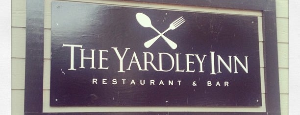 The Yardley Inn Restaurant & Bar is one of Places to try.