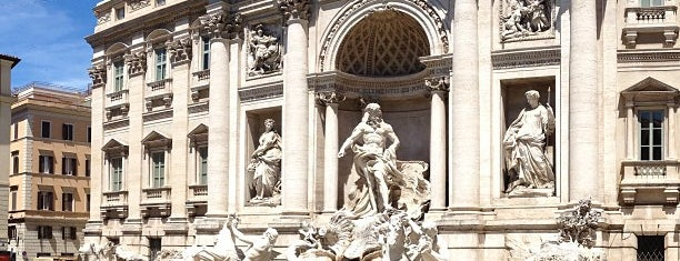 Fontana di Trevi is one of Roma, it.