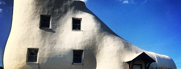 The Haines Shoe House is one of Roadside Discoveries.