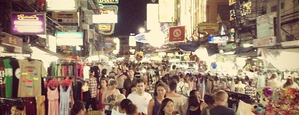 Khaosan Night Market is one of В дорогу 3.