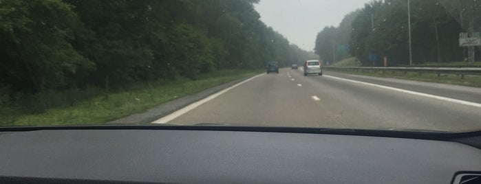 E42 - Hingeon is one of Belgium / Highways / E42.