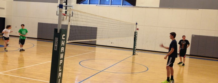Gymnasium is one of Champlain College List.