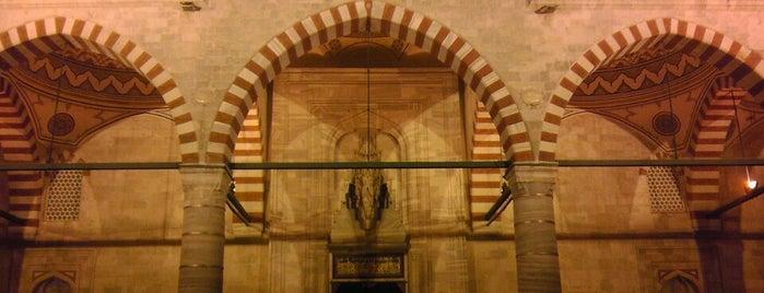 Üç Şerefeli Camii is one of Edirne Rehberi.