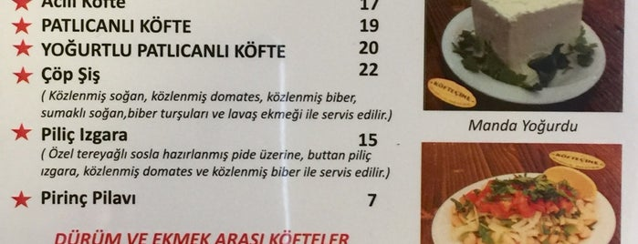 Köfteçine is one of Istanbul.