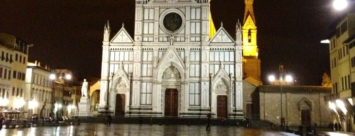Basilica di Santa Croce is one of Florence.