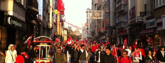 Taksim is one of Istambul.