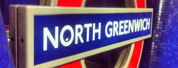 North Greenwich London Underground Station is one of Rail stations.