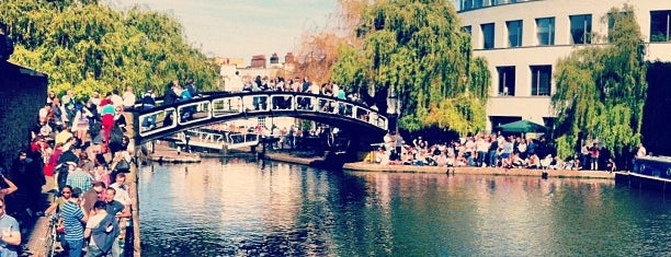 Camden Lock Market is one of London markets.