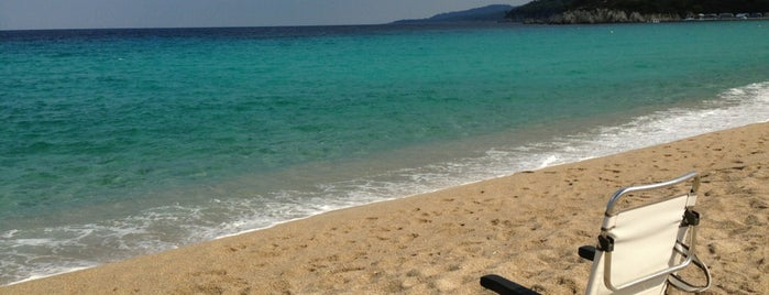 Armenistis Beach is one of 🌞🌊Chalkidiki-->to The Beach 🐋🐬🐟🐠🐡🦀.