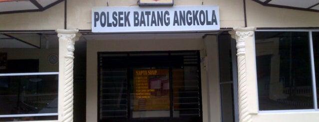 Polsek Pintu Padang is one of My adventure collection !.