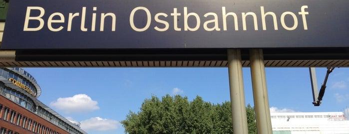 Berlin Ostbahnhof is one of Bahnhöfe Deutschland.