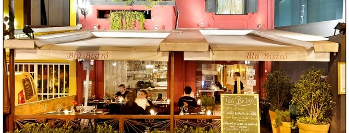 Blú Bistro is one of Gastronomia - The Best in Sampa.