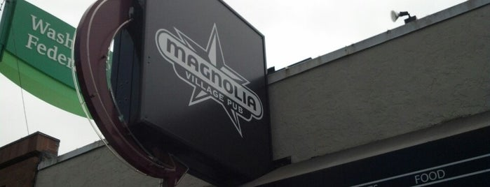 Magnolia Village Pub is one of Happy Hour in Seattle.