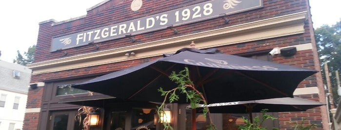 Fitzgerald's 1928 is one of places to go around montclair.