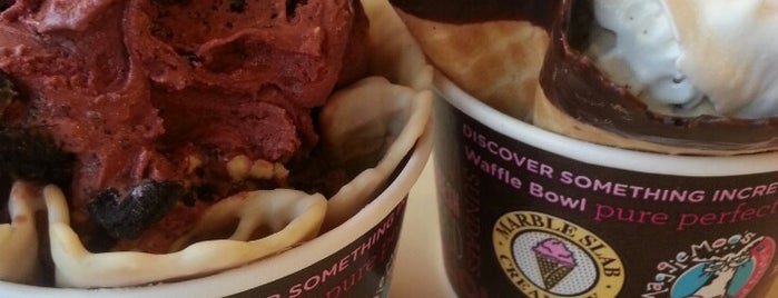 Marble Slab Creamery is one of #CHAeats #4sq Specials.