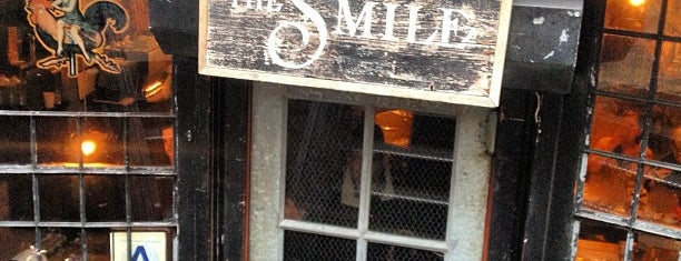 The Smile is one of NY Espresso.