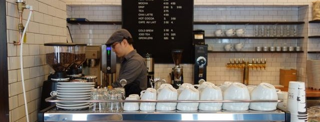Birch Coffee is one of Manhattan's Best Coffee by Subway Stop.