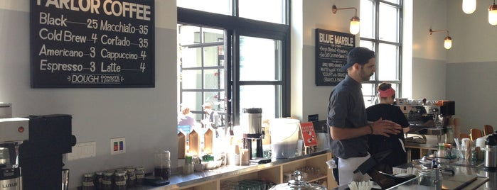 Berg'n is one of NYC: Newest Indie Cafes and Coffee Shops.
