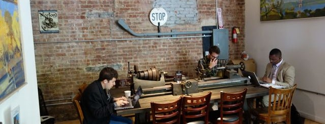 Taszo Espresso Bar is one of NYC: Best Manhattan Wifi Cafes/Coffee Shops.