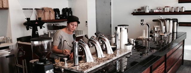 City of Saints Coffee Roasters is one of NYC: Newest Indie Cafes and Coffee Shops.