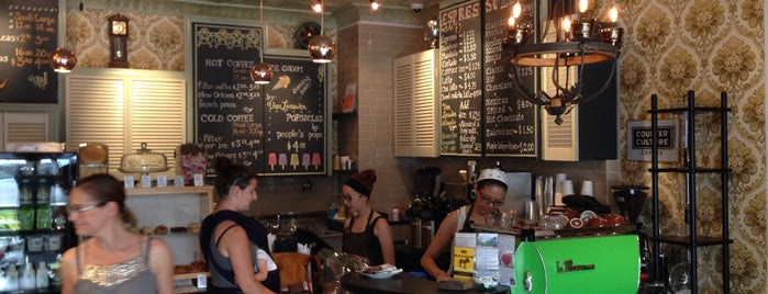OK Cafe is one of NYC: Newest Indie Cafes and Coffee Shops.