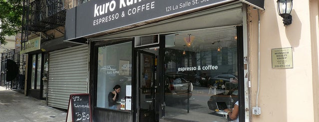 Kuro Kuma is one of Manhattan's Best Coffee by Subway Stop.