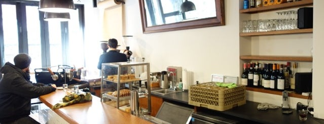 Box Kite NYC is one of NYC: Newest Indie Cafes and Coffee Shops.