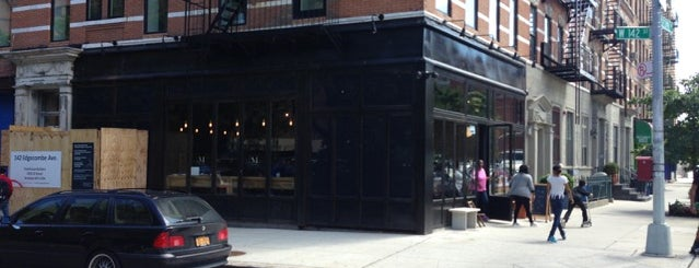 Manhattanville Coffee is one of NYC: Newest Indie Cafes and Coffee Shops.
