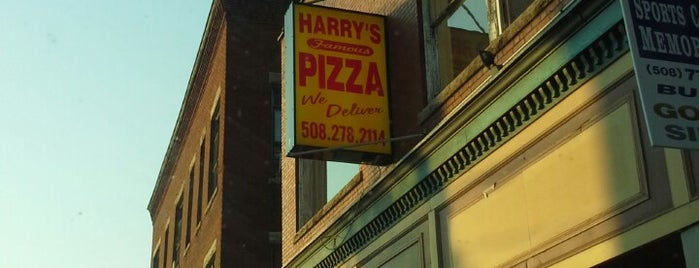 Harry's Famous Pizza is one of just a list of places.