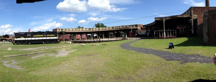 Georgia State Railroad Museum is one of Family/Kid Friendly Activities in Savannah.