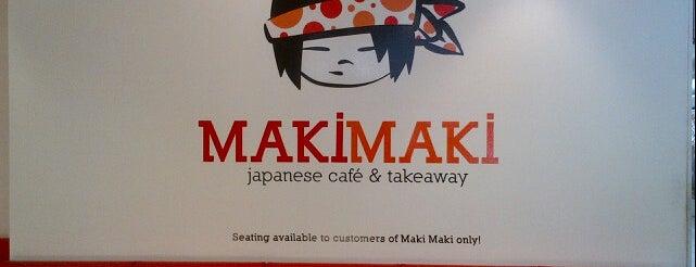 MakiMaki is one of Japanese Restaurants in Adelaide.
