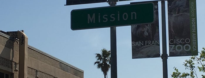 24th St & Mission St is one of moonee.
