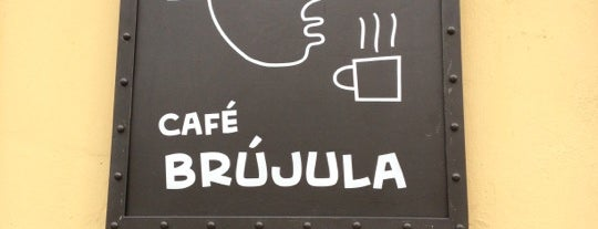 Café Brújula is one of Oaxaca to do.