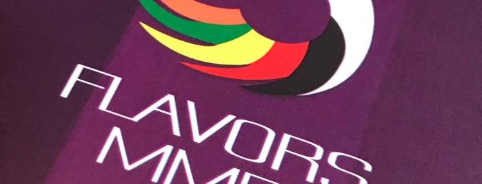 5 flavors Mmei is one of Belgium - Resto.