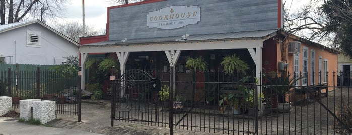 The Cookhouse is one of The Dog's Bollocks' San Antonio.