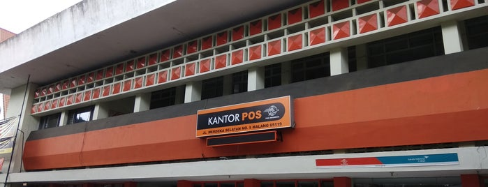 Pos Indonesia is one of must to visit in malang city.