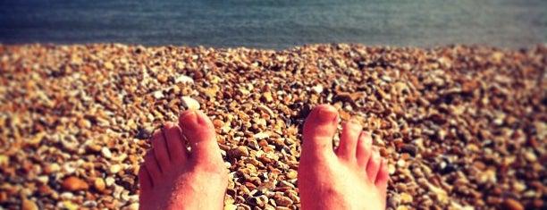 Hythe Beach is one of Hythe Holiday.
