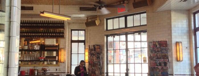 Schiller's Liquor Bar is one of Manhattan Essentials.